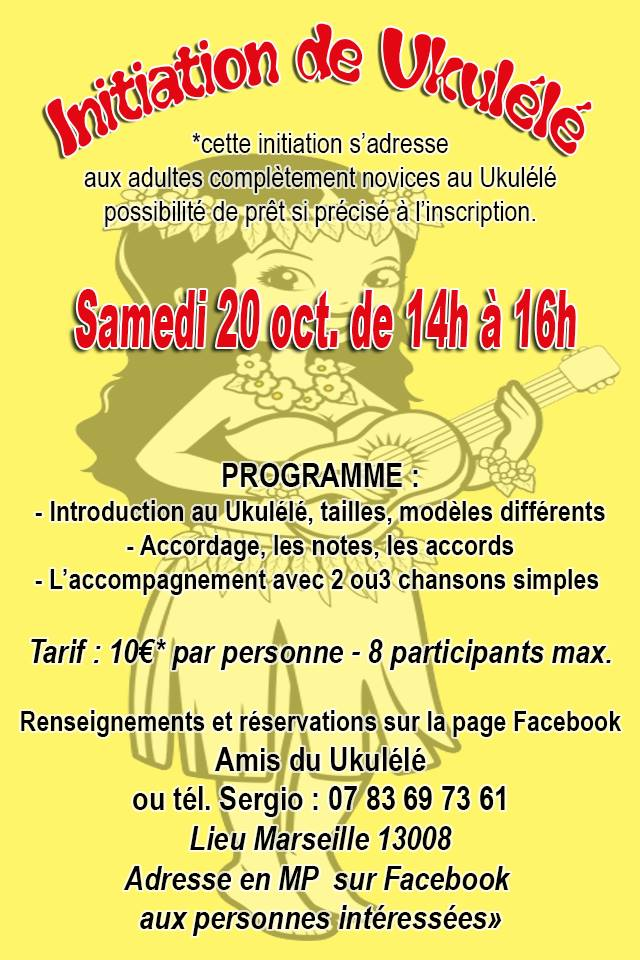 Initiation au ukulélé